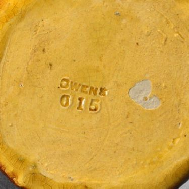 Typical Owens Pottery mark